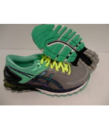 Asics women's running shoes gel kinsei 6 light grey titanium mint size 6 us - $128.65