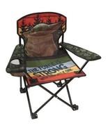Star Wars: the Mandalorian Baby Yoda Kids Folding Quad Camping Chair, Green - $24.99