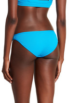 NEW L*Space Electric Blue Cosmo Full Cut Bikini Swimwear Bottom M Medium ELB image 2