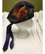 glengarry hat with feathers for Civil War ladies costume  HALLOWEEN - $19.80