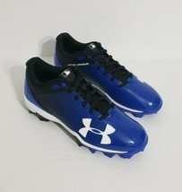Mens Under Armour BLUE Leadoff Low RM Baseball Cleats Size 6.5 - $46.75