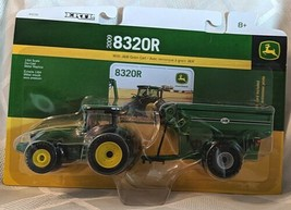 John Deere TBE45236 ERTL 8320R Tractor With J and M Grain Cart image 1