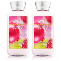 Bath & Body Works Sweet Summer Sunset Body Lotion 8 fl oz Set Of Two Bot... - $19.13