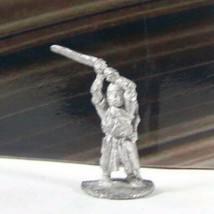Vintage Dungeons & Dragons Rare Metal Miniature D&D Ral Partha Fighter w Sword - $20.69