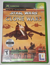 XBOX - STAR WARS THE CLONE WARS &TETRIS WORLDS (Complete with Instructions) - $8.00