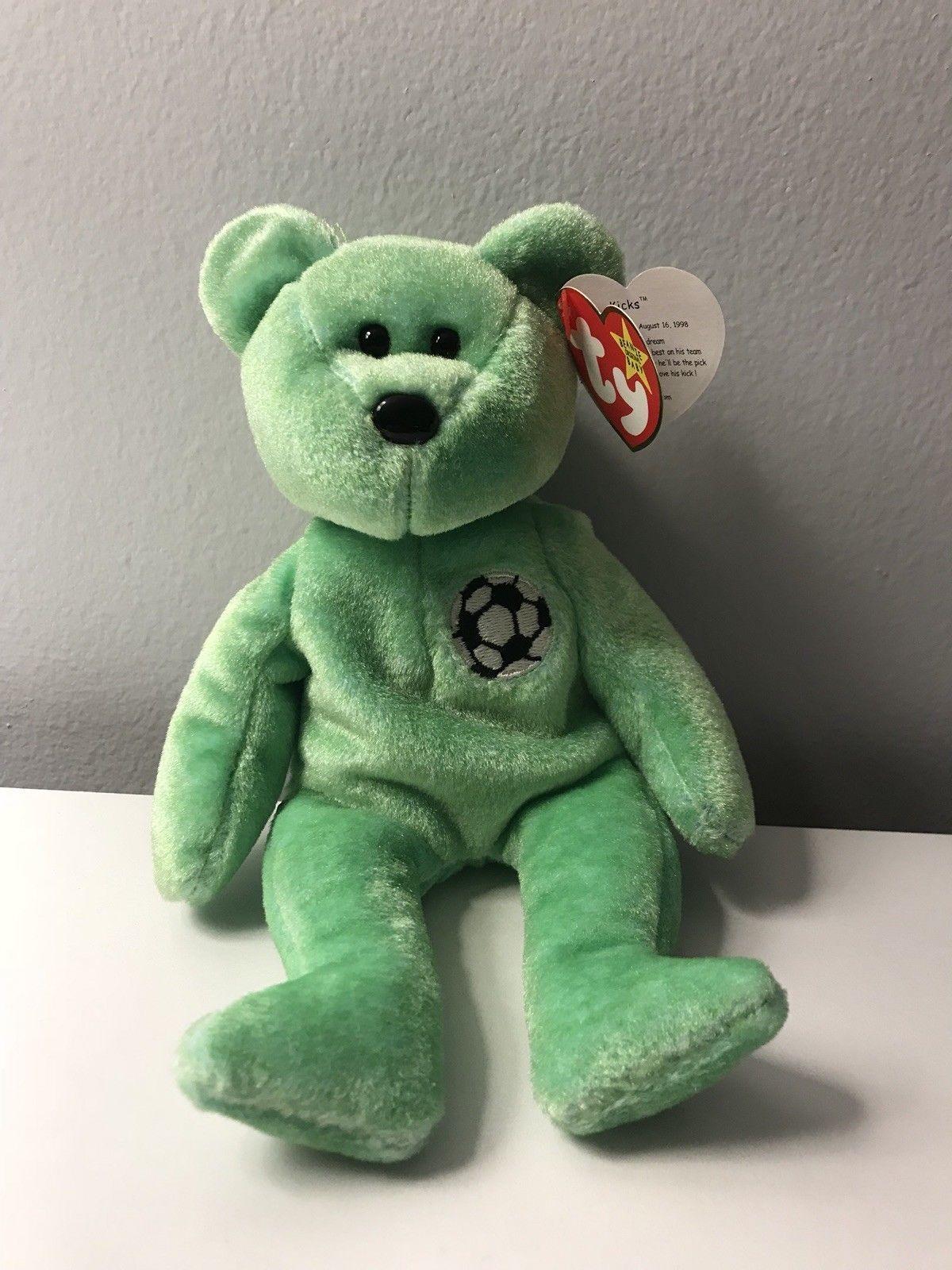 Ty Beanie Babies KICKS The Bear Collectors and 50 similar items. S l1600 72e257016fa8