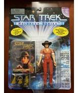 1995 Playmates Star Trek Holodeck Series DEANNA TROI As DURANGO Action F... - $14.80