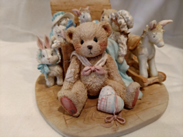 "Cherished Teddies - Christopher ""Old Friends Are The Best Friends,"" #950483 - $65.00"