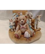 """Cherished Teddies - Christopher """"Old Friends Are The Best Friends,"""" #950483 - $65.00"""