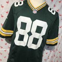 Nike Green Bay Packers Jermichael Finley 88 Mens M On Field Jersey A4878 - $22.05