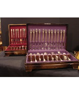 """1847 Rogers /IS Silverware  """"First Love"""" in 2 Original Storage Boxes 146... - $169.00"""