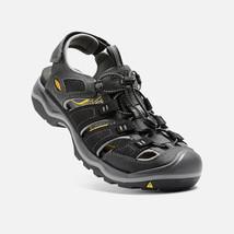 Keen Rialto H2 Sport Sandals Men's Size 8.5 M (D) EU 41 Black  /Gargoyle