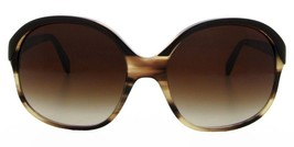 Oliver Peoples Casandra Taupe Brown Horn Sunglasses Womens OV5235S 1338 Ne W - $84.13
