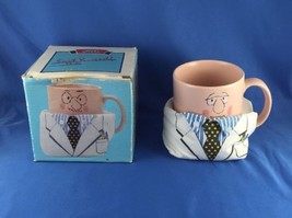 Doctor Coffee Mug Applause Cup Three Cheers Dr. Suit Yourself Rare Vintage 1988 - $26.59