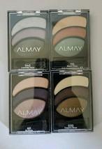 Almay Shadow Trios 030, 040, 060, & 110 BRAND-NEW Eyeshadows Smokey & Smoulder - $18.37