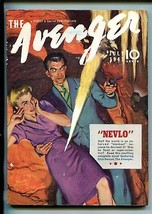 The Avenger 07/1937-STREET & SMITH-PULP-GRAVES GLADNEY-GUNFIGHT COVER-vf Minus - $236.44