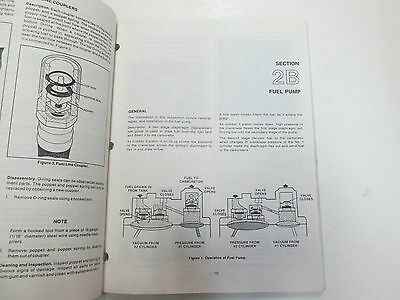 1984 1985 1986 Force Outboards 35 HP Outboard Motors Service Manual STAIN WORN** image 9
