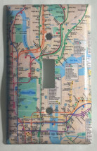 NYC New York City Subway Map Light Switch Outlet Wall Cover Plate Home decor image 1
