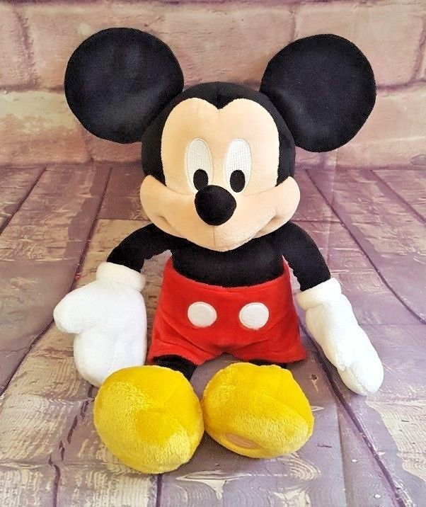 "Primary image for Disney Store Exclusive Mickey Mouse 15"" Plush Classic Outfit Stuffed Animal"
