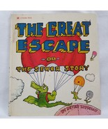 The Great Escape Or The Sewer Story A Golden Book Peter Lippman 1973 Har... - $225.00