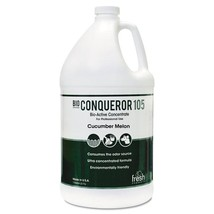 Bio C 105 Odor Counteractant Concentrate, Cucumber Melon, 1gal, Bottle, 4/carton - $118.80