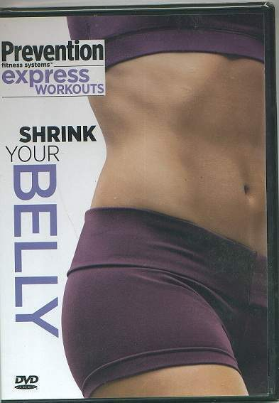 PREVENTION Express Workouts-SHRINK YOUR BELLY! Sealed!