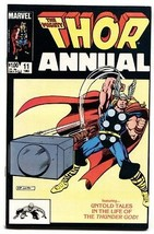 THOR ANNUAL #11-First appearance of Eitri-1983-Marvel Comic Book - $30.26
