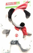 "Peanuts Snoopy Christmas Plush w/Sound & Motion Snow Angel 14"" New - $34.00"