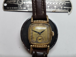 VINTAGE 1940'S ROMAN DIAL HAMILTON RUSSELL 17 JEWEL WATCH FOR YOU TO RES... - $285.42