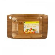 Bamboo Cutting Board Set OF444 - $40.49