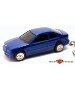 KEY CHAIN RING BLUE BMW SERIES 3 318i 320i 325i 328i M3 E46 COUPE NEW CU... - $28.98