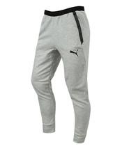Puma Manchester City F.C. Men's Casual Sweat Pants Gray 75793115 - $79.99