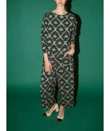 Anthropologie Loy Long Sleeve Jumpsuit by Liam of York $348 Sz L - NWT - $93.49