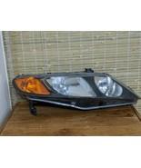 2008 Honda Civic Coupe Si LEFT Side Headlight Assembly w/ Bulbs OEM EUC - $48.99