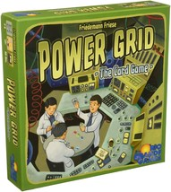 Power Grid The Card Game Strategy Fun Multiplayer Rio Grande Games RIO536 - $24.25