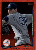 2014 Topps Update Red Hot Foil #US-59 Brandon McCarthy NM-MT Yankees - $1.49