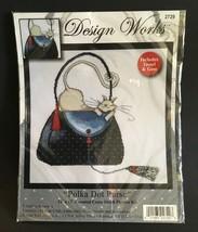 "Design Works 'Polka Dot Purse' Cross Stitch Picture Kit 12"" x 12"" - $24.99"