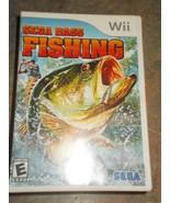 Wii Sega Bass Fishing Game - $14.99