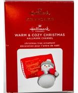 Hallmark  Warm & Cozy Christmas - Hallmark Channel Movie  Keepsake Ornam... - $17.81