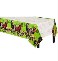 Jurassic World Dinosaur Plastic Table Cover Birthday Party Supplies 1 Ct... - $7.42