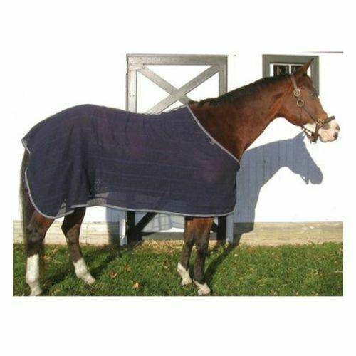 "Pony Scrim Sheet Black and Grey 56"" Pony"