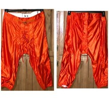 Youth Football Pants Orange 2XL Game Practice New with Tags Belt  - $4.94