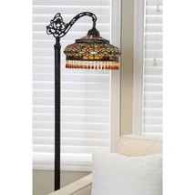 Tiffany Style Floor Lamp Elegant Victorian Parisian Formal Side Arm Livi... - $229.95