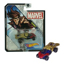 Hot Wheels Marvel Gambit First Appearance Character Cars Mint on Card - $10.88