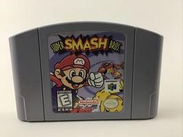 Nintendo 64 Mario Super Smash Bros Game Pak N64 Video Game Vintage 1997 Rated E - $53.41