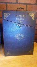 Vintage Wood Box - Treasure Island, Tale of Two... - $15.85