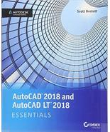 AutoCAD 2018 and AutoCAD LT 2018 Essentials [Paperback] Onstott, Scott - $23.52