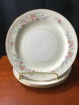 "5 Georgian Eggshell Cashmere Dinner Plates 10"" Homer Laughlin - $24.75"