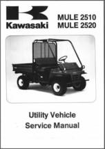 1993-2000 Kawasaki Mule 2510 / Mule 2520 ( KAF620 ) UTV Service Manual CD - $12.99