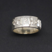 Silver Viking Rune Ring - $62.00